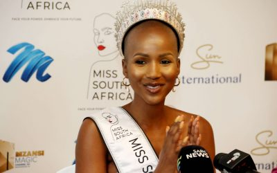 SHUDUFHADZO MUSIDA'S FIRST DAY AS MISS SOUTH AFRICA 2O20