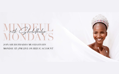 Miss South Africa Shudufhadzo Musida launches mental health initiative #MindfulMondays